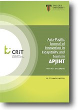 Asia-Pacific Journal of Innovation in Hospitality and Tourism Research