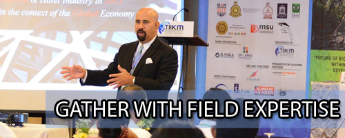 gather with field expertise
