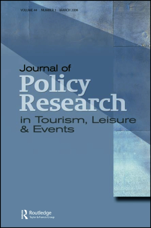 Journal of Policy Research in Tourism,Leisure and Events