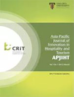 Asia-Pacific Journal of Innovation in Hospitality and Tourism